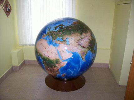 Глобус большой своими руками